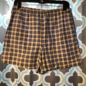Vintage high waisted checkered shorts